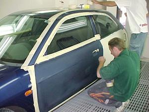 Локальная покраска авто в Туле