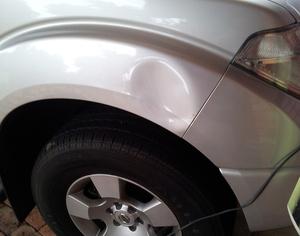 Фото вмятины на авто
